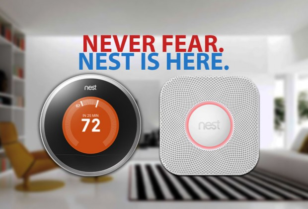 Never Fear. Nest is Here.