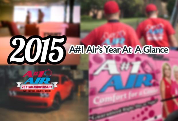 2015: A#1 Air's Year At A Glance