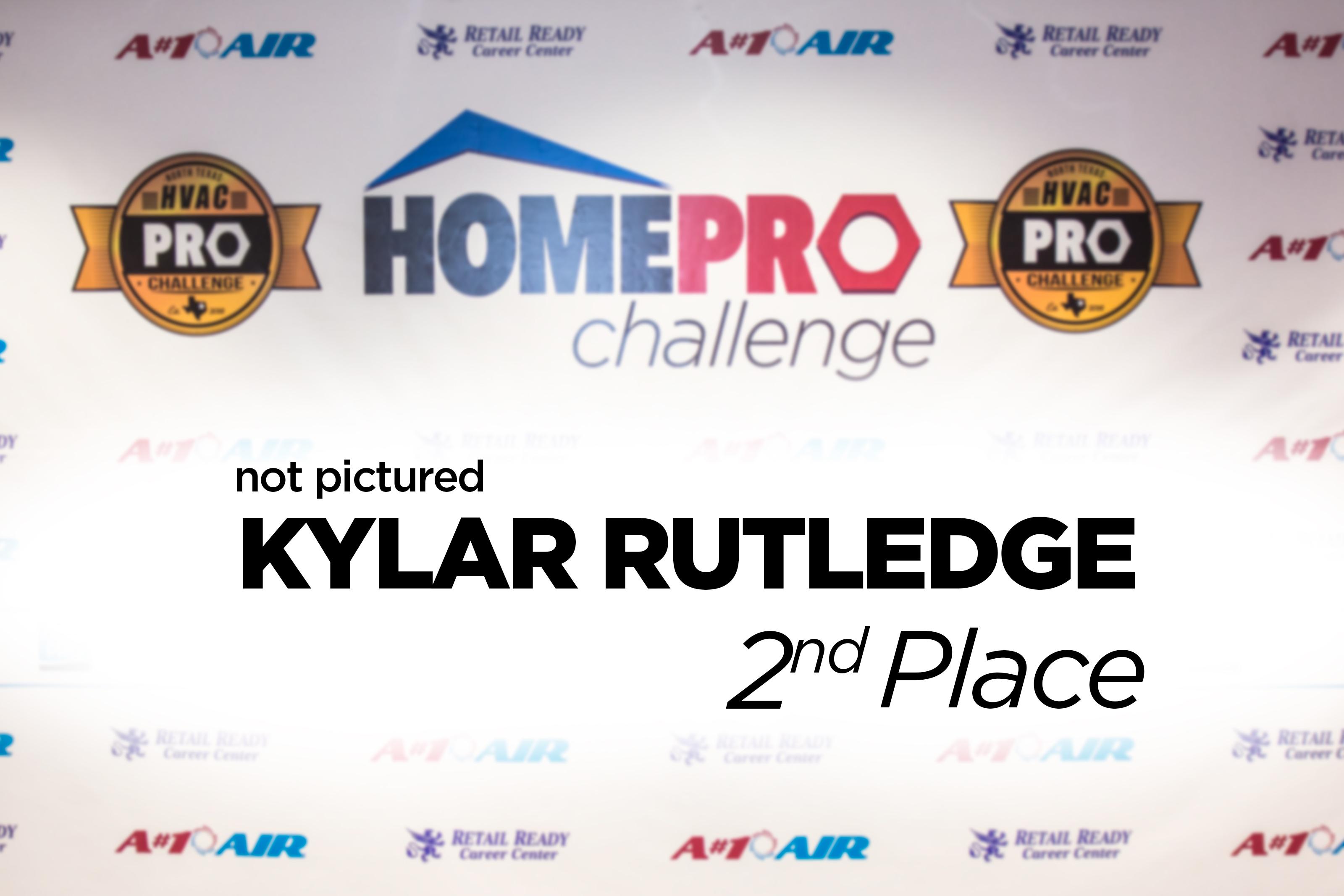 2nd - Kylar Rutledge - Tom's Mechanical - Home Pro Challenge Over 2