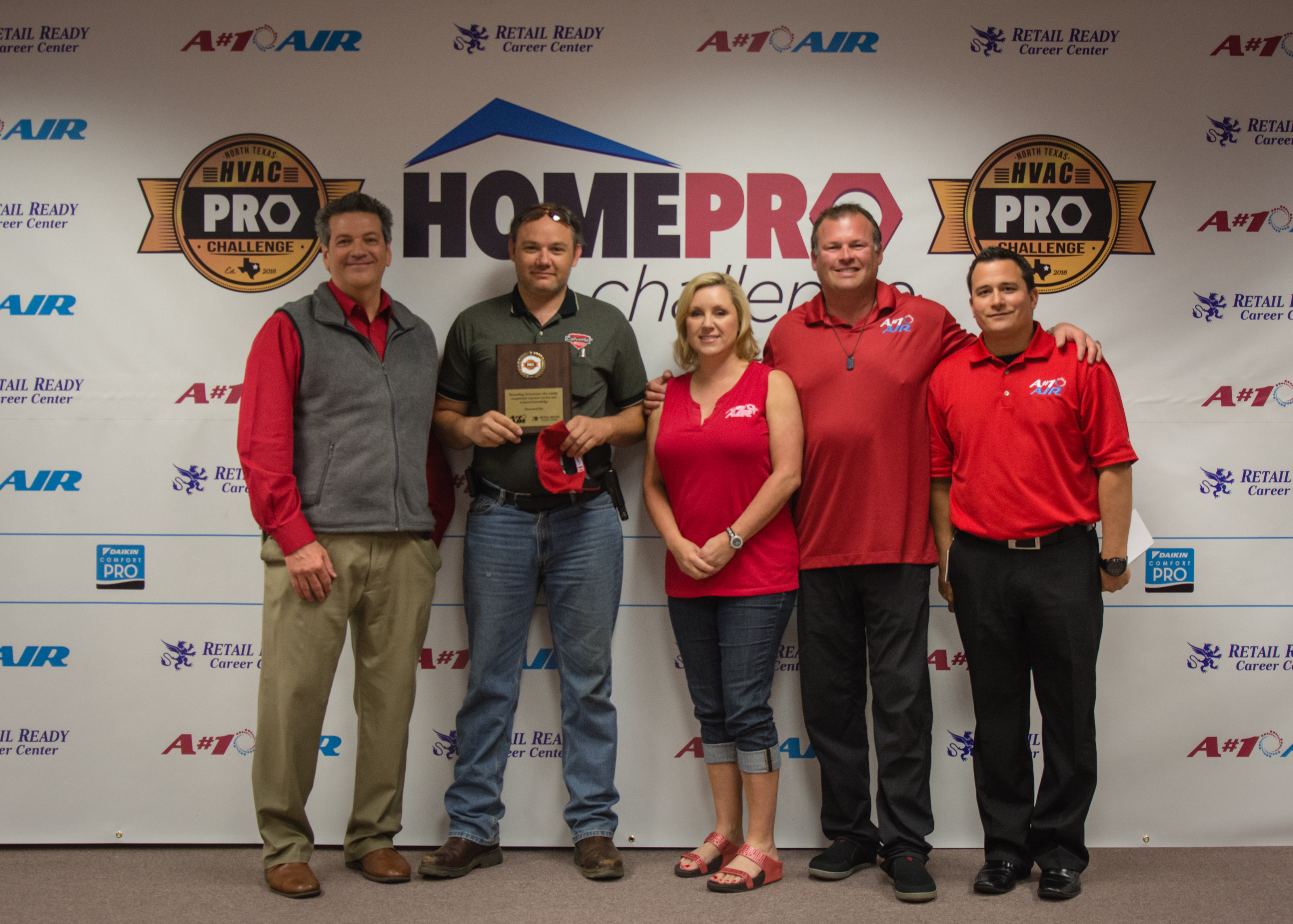 4th - Gary McDonald - Calverley Service Experts - Home Pro Challenge Over 2