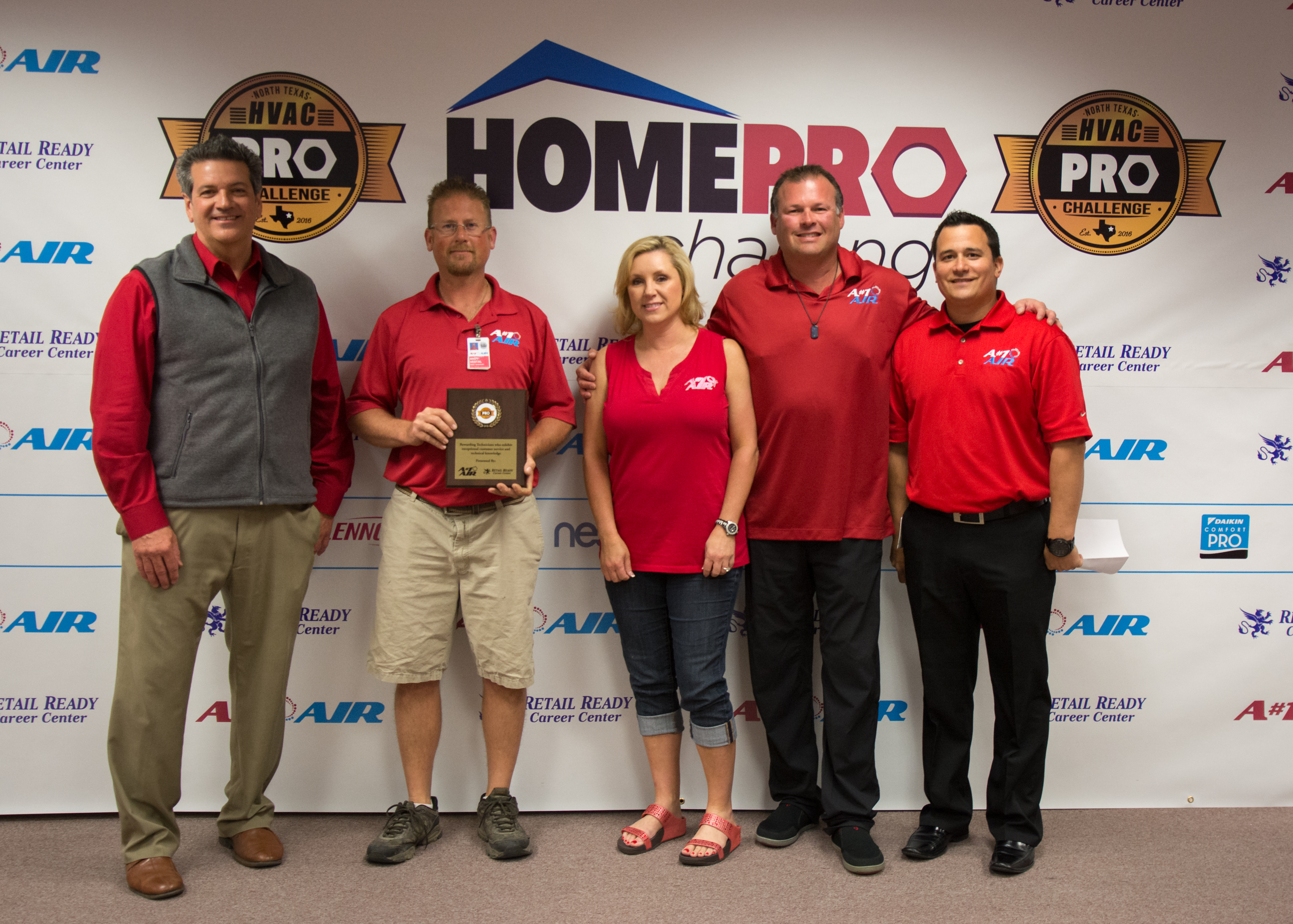 2nd - Andy Vestal - A#1 Air - 2016 North Texas HVAC Pro Challenge Under 2