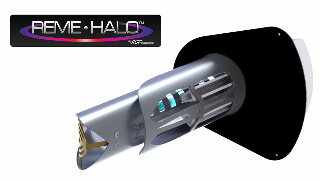 Duct Air Purifier : Product spotlight reme halo in duct air purifier