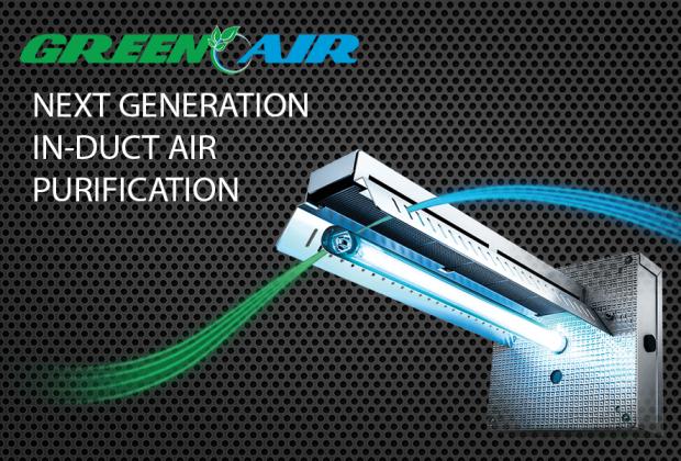 GreenAir UV In-Duct Air Purification, A#1 Air, Inc.