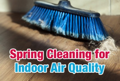 Spring Cleaning for Indoor Air Quality