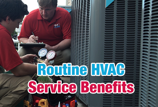 Routine HVAC Service Benefits, A#1 Air Inc.