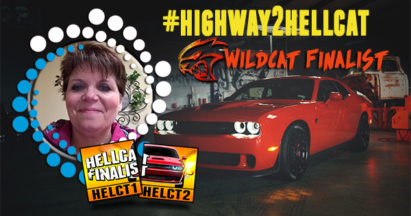 Susan from Fort Worth, Wildcat Finalist. Highway2Hellcat