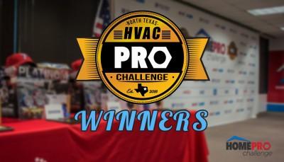 2016 North Texas HVAC Pro Challenge Winners