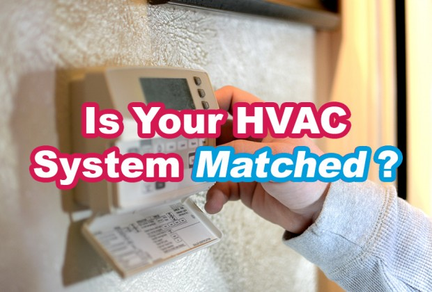 Matched HVAC System. A#1 Air, Inc. Dallas, Fort Worth.