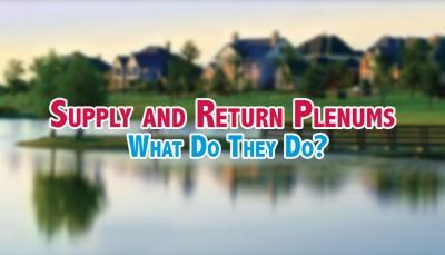 Supply and Return Plenums. A#1 Air, Inc. Dallas, Fort Worth